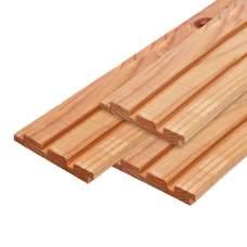 Gevelbekleding red class wood geschaafd 2,2x14x240cm
