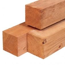 Tuinpaal red class wood geschaafd 14x14 cm