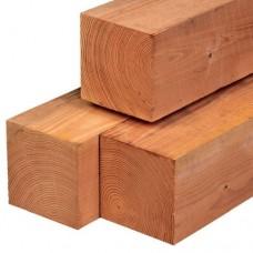 Tuinpaal red class wood geschaafd 20x20 cm