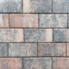 Betonklinker 21x10,5x6 cm tricolore