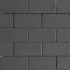 Design brick 21x10,5x6 cm black