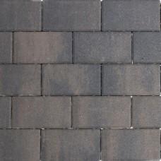 Design brick 21x10,5x6 cm dark sepia