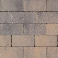 Design brick 21x10,5x6 cm grigio camello