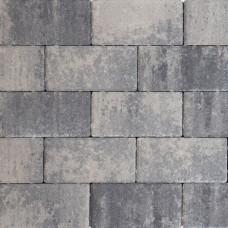 Design brick 21x10,5x6 cm nero grey