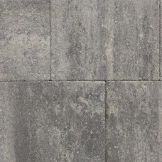 Straksteen 40x30x6 cm grijs zwart