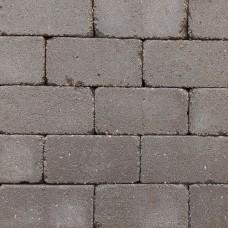 Trommel betonstraatsteen antiek 21x10,5x6 cm gebakken mangaan