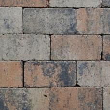 Trommel betonstraatsteen antiek 21x10,5x6 cm gebakken musselkalk