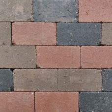 Trommel betonstraatsteen antiek 21x10,5x6 cm gebakken oud veendam