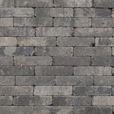 Trommel waalformaat 20x5x7 cm grijs zwart