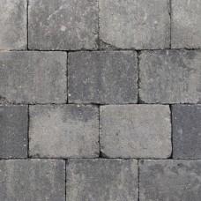 Trommelsteen 20x15x6 cm grijs zwart