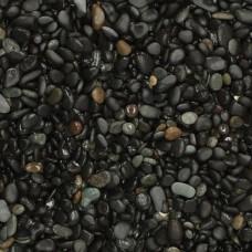 Beach pebbles black 8-16 mm 25 kg
