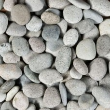 Beach pebbles grijs 40-60 mm 25 kg