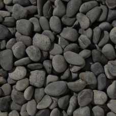 Beach pebbles antraciet 40-60 mm 25 kg