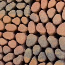 Keigrasstreen 45x45x10 cm bruin gv