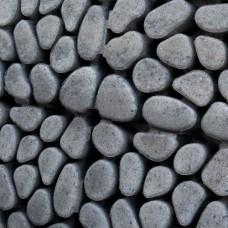 Keigrasstreen 45x45x10 cm grijs zwart