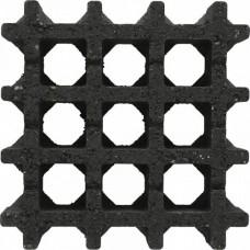 Aquadrain nero 30x30x8 cm