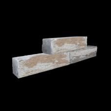 Rockstone walling 60x15x12 cm mosselkalk