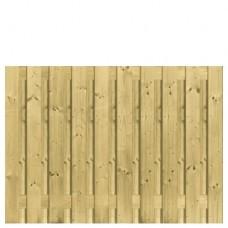 Tuinscherm geïmpregneerd grenen 130x180 cm 21-planks 103435