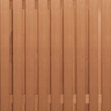 Hardhouten tuinscherm recht 19-planks 180x180 cm 135409