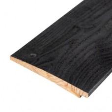 Zweeds dubbel rabat douglas zwart gedompeld 1,2-2,5x19,5 cm