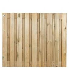 Tuinscherm geïmpregneerd grenen 150x180 cm 19-planks 137854