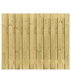Tuinscherm geïmpregneerd grenen 150x180 cm 21-planks 137855
