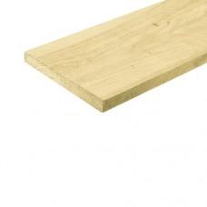 Kantplank geïmpregneerd vuren bezaagd 2,2x20 cm