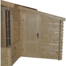 Blokhut aanbouw 25 Interflex 163x250 cm