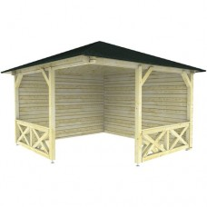 Paviljoen P3555 Interflex 370x370 cm