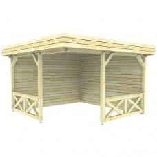 Paviljoen P3556 Interflex 370x370 cm