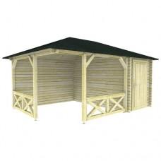 Paviljoen P5155 Interflex 533x370 cm