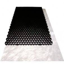 Grindmatten 120x80x3 cm zwart