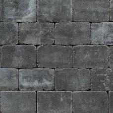 Trommel betonstraatsteen antiek 21x10,5x6 cm gebakken antraciet