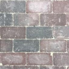 Trommel betonstraatsteen antiek 21x10,5x6 cm gebakken groninger bruin