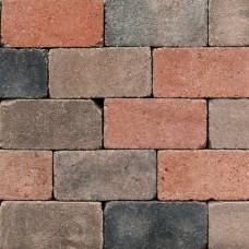 Trommel betonstraatsteen antiek 21x10,5x6 cm gebakken nieuw veendam