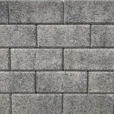 Nature top betonklinker 21x10,5x6 cm uitgewassen nero grey