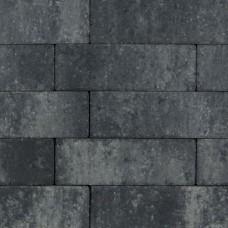 Longstone opritsteen 31,5x10,5x7 cm grijs zwart