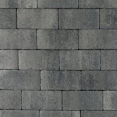Nature top betonklinker 21x10,5x6 cm nero grey