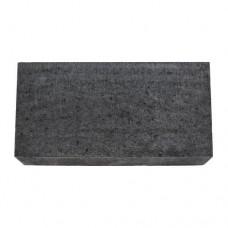 Traptrede linea zonder facet 15x30x60 cm antraciet