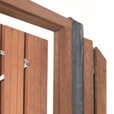 Tuindeurkozijn hardhout 210 x 90>150 cm