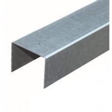 Afdeklat verzinkt 3-planks 180 cm