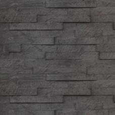 Betonnen onderplaat antraciet 4,8x26x184cm leisteenmotief smal