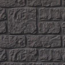 Betonnen onderplaat antraciet 4,8x26x184cm romeinsmotief smal