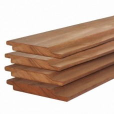Halfhouts rabat hardhout kapur 1,6x14x300 cm