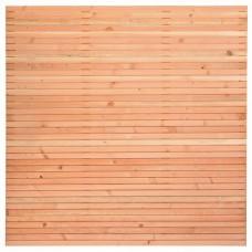 Tuinscherm Klagenfurt lariks/douglas 180x180 cm