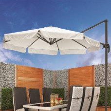 Parasol crème Le Havre Ø 350 cm
