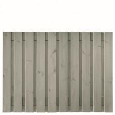 Tuinscherm Brussel zilvergrijs gespoten grenen 180x130 cm