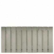 Tuinscherm Brussel zilvergrijs gespoten grenen 180x90 cm