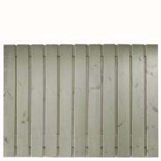 Tuinscherm Gent zilvergrijs gespoten grenen 180x130 cm