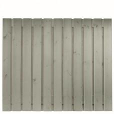 Tuinscherm Gent zilvergrijs gespoten grenen 180x150 cm